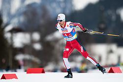 February 24, 2019 - Seefeld In Tirol, AUSTRIA - 190224 Jan Schmid of Norway competes in men's nordic combined team sprint during the FIS Nordic World Ski Championships on February 24, 2019 in Seefeld in Tirol..Photo: Vegard Wivestad Grøtt / BILDBYRÃ…N / kod VG / 170297 (Credit Image: © Vegard Wivestad GrØTt/Bildbyran via ZUMA Press)
