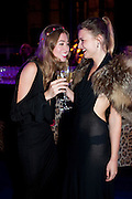 ANOUSKHA BECKWITH; BENEDICTE WILHELNSEN; , Dinner and party  to celebrate the launch of the new Cavalli Store at the Battersea Power station. London. 17 September 2011. <br /> <br />  , -DO NOT ARCHIVE-© Copyright Photograph by Dafydd Jones. 248 Clapham Rd. London SW9 0PZ. Tel 0207 820 0771. www.dafjones.com.