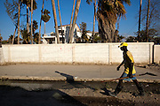 Last September, Gonaives was devastated by flooding that followed hurricanes Gustav, Hanna and Ike, and still remains in disrepair. More than 800 Haitians died and more than one million were left homeless throughout Haiti due to the floods. Its location in the high latitude tropics, mountainous terrain rising to almost 2,700 meters above sea level, and severely degraded environment, cause Haiti to be one of the world's most natural disaster-prone countries.