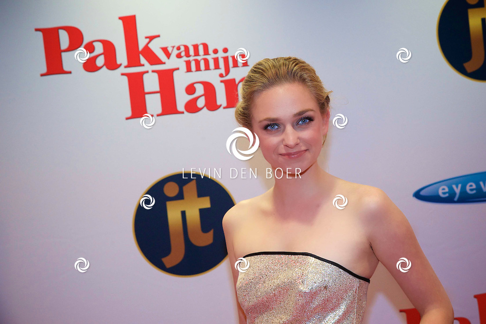 HILVERSUM - In de nieuwe JT Bioscoop is de eerste film 'Pak van mijn Hart' in premiere gegaan. Met hier op de foto  Pip Pellens. FOTO LEVIN DEN BOER - PERSFOTO.NU