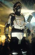 A dancing robot, Ibiza, 1999.