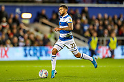Queens Park Rangers forward Nahki Wells (21) on the ball during the EFL Sky Bet Championship match between Queens Park Rangers and Brentford at the Kiyan Prince Foundation Stadium, London, England on 28 October 2019.