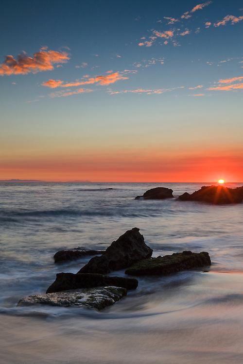 Shelf Rocks - Woods Cove - South Laguna Beach - Sunset