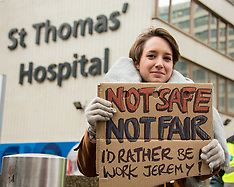 9 Mar 2016 - Junior Doctors start 1st 48 hour strike against contract imposition.