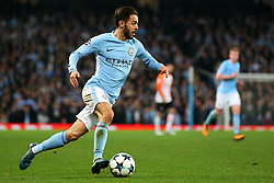 Bernardo Silva of Manchester City - Mandatory by-line: Matt McNulty/JMP - 26/09/2017 - FOOTBALL - Etihad Stadium - Manchester, England - Manchester City v Shakhtar Donetsk - UEFA Champions League Group stage - Group F