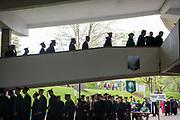 Spring undergraduate commencement. Photo by Ben Siegel