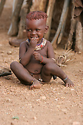 Children of the Hamer Tribe Photographed in the Omo River Valley, Ethiopia