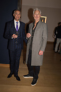 ANDREW RIDGELEY,, MARTIN KEMP, ,,, The George Michael Collection drinks.  Christie's, King St. London, 12 March 2019