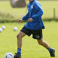 St Johnstone training...02.08.02<br />