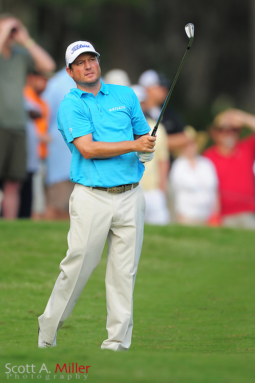 Tim Clark during the first round of the Players Championship at the TPC Sawgrass on May 10, 2012 in Ponte Vedra, Fla. ..©2012 Scott A. Miller..