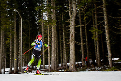 Urska Poje (SLO) during Women 15km Individual at day 5 of IBU Biathlon World Cup 2018/19 Pokljuka, on December 6, 2018 in Rudno polje, Pokljuka, Pokljuka, Slovenia. Photo by Ziga Zupan / Sportida