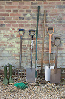 Shovels and Gardening Tools
