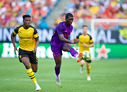 CHARLOTTE, USA - Sunday, July 22, 2018: Liverpool's Sheyi Ojo during a preseason International Champions Cup match between Borussia Dortmund and Liverpool FC at the  Bank of America Stadium. (Pic by David Rawcliffe/Propaganda)