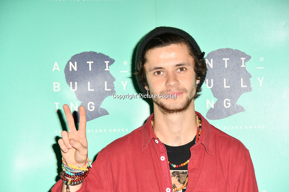 Cel Spellman attend The Diana Award anti-bullying week at Alexandra Palace on 12 November 2018, London, UK.