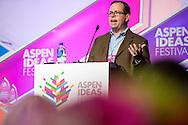 The Booz Allen Aspen Award pitch session during Session 2 at the 2016 Aspen Ideas Festival in Aspen, CO. ©Brett Wilhelm