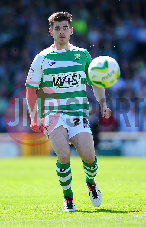 Yeovil Town's Joe Edwards - Photo mandatory by-line: Dougie Allward/JMP - Tel: Mobile: 07966 386802 06/05/2013 - SPORT - FOOTBALL - Huish Park - Yeovil - Yeovil Town V Sheffield United - NPOWER LEAGUE ONE PLAY-OFF SEMI-FINAL SECOND LEG