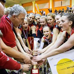 20150118: SLO, Volleyball - Slovenian Cup Final Women, OK Nova KBM Branik vs OK Luka Koper