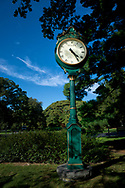 Clock at the NY Botanical Garden, Bronx, New York