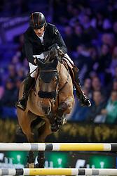Smolders Harrie, NED, Zinius<br /> Vlaanderens Kerstjumping<br /> Memorial Eric Wauters<br /> Jumping Mechelen 2017<br /> © Hippo Foto - Dirk Caremans<br /> 28/12/2017
