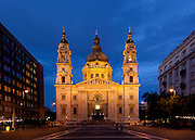 St. Stephen's Basilica (Hungarian: Szent István-bazilika) is a  Neo-Classical Roman Catholic basilica in Budapest, Hungary. It is named in honour of Stephen, the first King of Hungary (c 975–1038), whose mummified fist is housed in the reliquary. Completed: 1851- 1905 Architect: Jozsef Hild, Miklos Ybl & Jozsef Krausz.