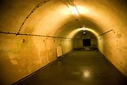 Ward in German Underground Military hospital, Guernsey, Channel Islands, UK