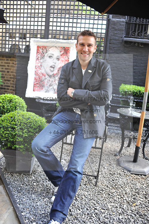 Actor STEFAN BOOTH at a private view of Zoobs's latest scrolls 'One Is The Magic' at Blake's Hotel, 33 Roland Gardens, London SW7 on 6th July 2011.