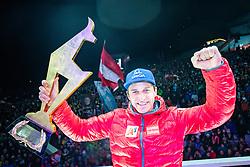 25.01.2020, Streif, Kitzbühel, AUT, FIS Weltcup Ski Alpin, Abfahrt, Herren, Siegerehrung, im Bild Matthias Mayer (AUT, 1. Platz) // race winner Matthias Mayer of Austria during the winner ceremony for the men's downhill of FIS Ski Alpine World Cup at the Streif in Kitzbühel, Austria on 2020/01/25. EXPA Pictures © 2020, PhotoCredit: EXPA/ Johann Groder