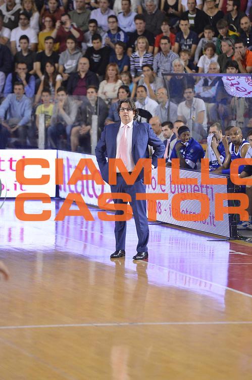 DESCRIZIONE : Roma Lega A 2012-2013 Acea Roma Lenovo Cant&ugrave; playoff semifinale gara 2<br /> GIOCATORE : Andrea Trinchieri<br /> CATEGORIA : <br /> SQUADRA : Lenovo Cantu<br /> EVENTO : Campionato Lega A 2012-2013 playoff semifinale gara 2<br /> GARA : Acea Roma Lenovo Cant&ugrave;<br /> DATA : 27/05/2013<br /> SPORT : Pallacanestro <br /> AUTORE : Agenzia Ciamillo-Castoria/GiulioCiamillo<br /> Galleria : Lega Basket A 2012-2013  <br /> Fotonotizia : Roma Lega A 2012-2013 Acea Roma Lenovo Cant&ugrave; playoff semifinale gara 2<br /> Predefinita :