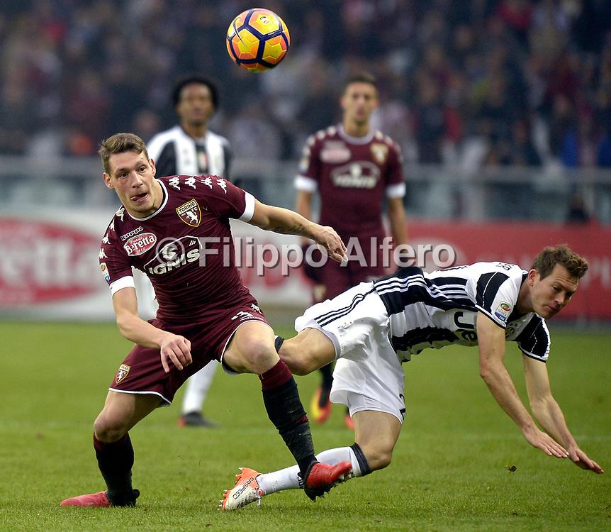 &copy; Filippo Alfero<br /> Torino-Juventus, Serie A 2016/2017<br /> Torino, 11/12/2016<br /> sport calcio<br /> Nella foto: