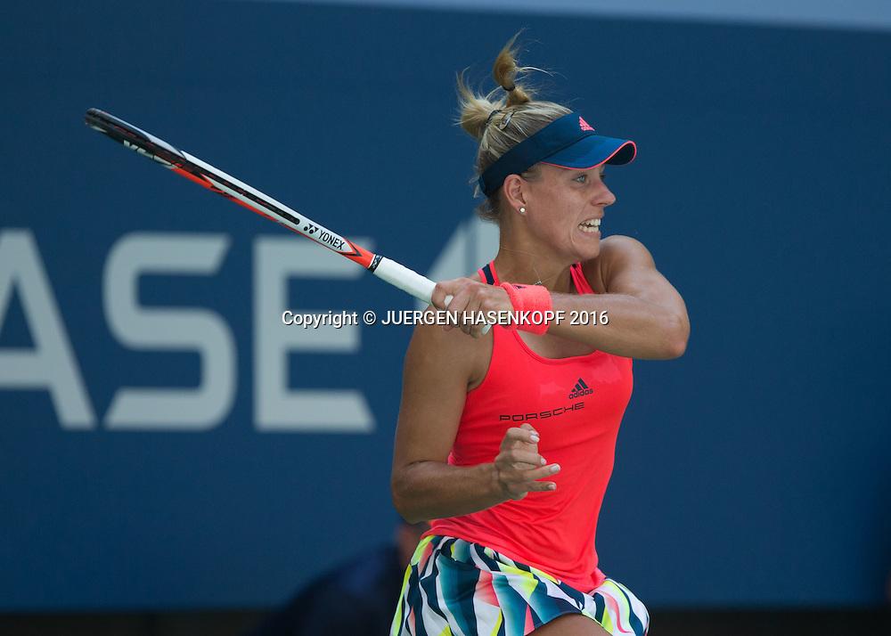 ANGELIQUE KERBER (GER)<br /> <br /> Tennis - US Open 2016 - Grand Slam ITF / ATP / WTA -  Flushing Meadows - New York - New York - USA  - 29 August 2016.