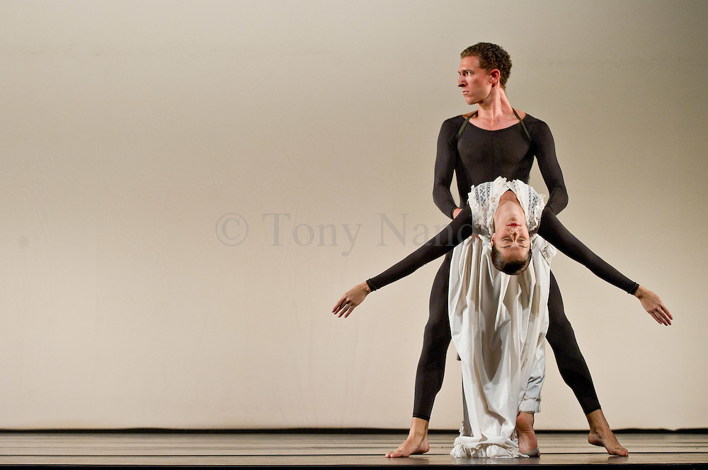 05/10/2011. London, UK. Antic Meet, by visionary choreographer Merce Cunningham, performed one last time in the UK by the company he personally trained. Photo credit : Tony Nandi
