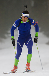 Vasja Rupnik at training session of Slovenian biathlon team before new season 2009/2010,  on November 16, 2009, in Pokljuka, Slovenia.   (Photo by Vid Ponikvar / Sportida)
