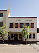 The Scottish Hall Building on Esk Street, Invercargill, New Zealand