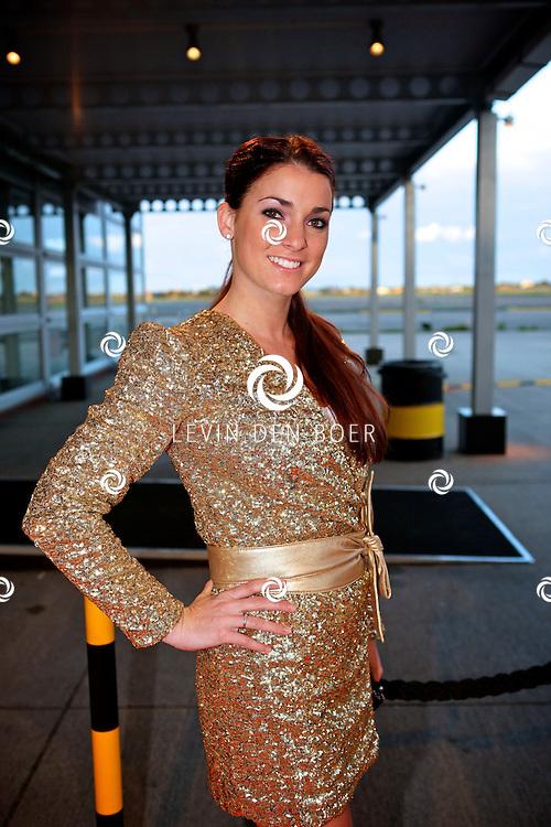 KATWIJK - Op vliegbasis Valkenburg hield Soldaat van Oranje een tweede premiere ter gelegenheid van een nieuwe Cast.  Met op de foto Stephanie van den Eijnden. FOTO LEVIN DEN BOER - PERSFOTO.NU