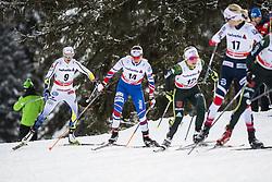 January 1, 2018 - Stockholm, Sweden - Anna Haag. 10 km fristil, damer och 15 km fristil herrar. Tour de Ski, Lenzerheide (Credit Image: © Orre Pontus/Aftonbladet/IBL via ZUMA Wire)