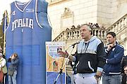 DESCRIZIONE : Roma Trofeo delle Regioni Cesare Rubini Kinder+Sport 2015 - Cerimonia di Apertura<br /> GIOCATORE : Enrico Gilardi<br /> SQUADRA : FIP Federazione Italiana Pallacanestro <br /> EVENTO : Trofeo delle Regioni Cesare Rubini Kinder+Sport 2015 - Cerimonia di Apertura<br /> GARA : Trofeo delle Regioni Cesare Rubini Kinder+Sport 2015 - Cerimonia di Apertura<br /> DATA : 01/04/2015<br /> CATEGORIA : Conferenza<br /> SPORT : Pallacanestro <br /> AUTORE : Agenzia Ciamillo-Castoria/GiulioCiamillo