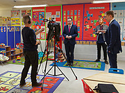 London, United Kingdom - 7 March 2018<br /> EQUINOX PICTURE EXCLUSIVE - Labour Party Shadow Chancellor John McDonnell and Shadow Communities Secretary Andrew Gwynne visiting the Liz Atkinson Children's Centre, Lambeth, London, England, UK, They were visiting the centre to highlight Conservative austerity cuts to children's centres. Europe.www.newspics.com/#!/contact<br /> (photo by: EQUINOXFEATURES.COM)<br /> Picture Data:<br /> Photographer: Equinox Features<br /> Copyright: &copy;2018 Equinox Licensing Ltd. +448700 780000<br /> Contact: Equinox Features<br /> Date Taken: 20180307<br /> Time Taken: 12012359