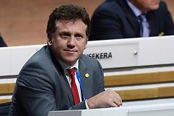 26.02.2016, Zürcher Hallenstadion, Zuerich, SUI, FIFA Kongress und Präsidentenwahl, im Bild Die FIFA Exekutivkomitee Mitglied Alejandro Dominguez (PAR) // during the extraordinary FIFA congress. Delegates of the soccer body FIFA meet to elect a new president at the Zürcher Hallenstadion in Zuerich, Switzerland on 2016/02/26. EXPA Pictures © 2016, PhotoCredit: EXPA/ Freshfocus/ Steffen Schmidt<br /> <br /> *****ATTENTION - for AUT, SLO, CRO, SRB, BIH, MAZ only*****