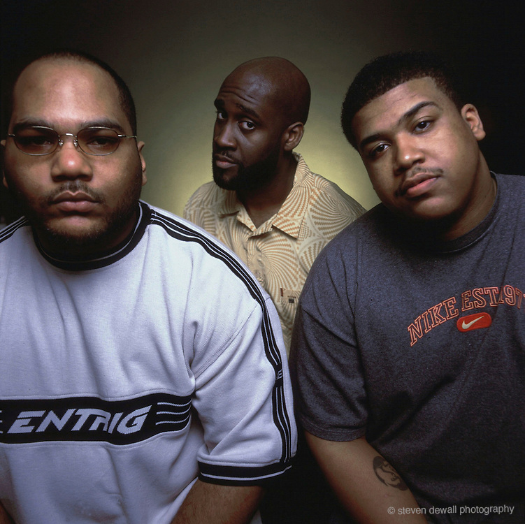 De La Soul photographed in Los Angeles in 1999