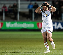Ulster Rugby's Christian Lealiifano<br /> <br /> Photographer Simon King/Replay Images<br /> <br /> Guinness Pro14 Round 10 - Dragons v Ulster - Friday 1st December 2017 - Rodney Parade - Newport<br /> <br /> World Copyright © 2017 Replay Images. All rights reserved. info@replayimages.co.uk - www.replayimages.co.uk