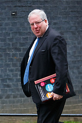 © Licensed to London News Pictures. 02/12/2014. LONDON, UK. Transport Secretary, Patrick McLoughlin attending to a cabinet meeting on Downing Street on Tuesday, 2 December 2014. Photo credit: Tolga Akmen/LNP
