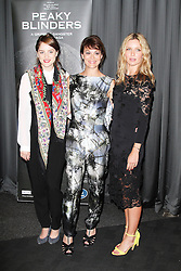 © Licensed to London News Pictures. 21/08/2013, UK. Sophie Rundle; Helen McCrory; Annabelle Wallis, Gala Screening of episode 1 of new BBC Two gangster drama 'Peaky Blinders', BFI Southbank, London UK, 21 August 2013. Photo credit : Richard Goldschmidt/Piqtured/LNP