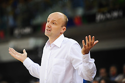 Jure Zdovc, head coach of Slovenia during basketball match between National Teams of Slovenia and Mexico in Round 2 of Group D of FIBA Basketball World Cup Spain 2014, on August 31, 2014 in Gran Canaria Arena, Las Palmas, Canary Islands. Photo by Tom Luksys  / Sportida.com <br /> ONLY FOR Slovenia, France