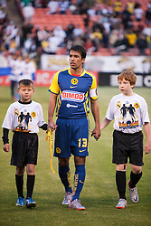 August 4, 2010; San Francisco, CA, USA;  Club America midfielder Pavel Pardo (13) before the game against Real Madrid at Candlestick Park. Real Madrid defeated Club America 3-2.