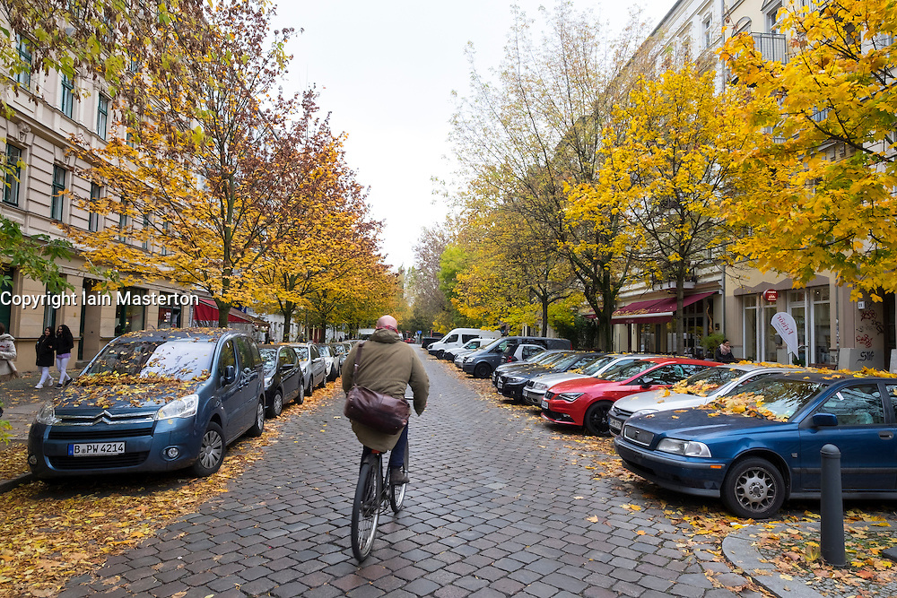 Worther Strasse in gentrified Prenzlauer Berg in Berlin Germany