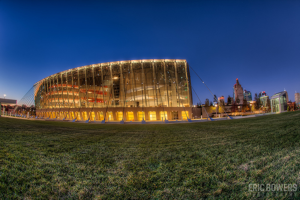 South side of the Kauffman Center for the Performing Arts.