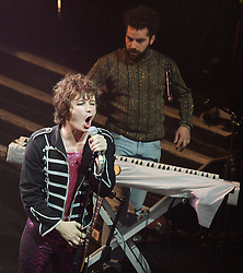 Amanda Fucking Palmer <br /> Theatre Is Evil Tour 2012 <br /> performing live at KOKO, Camden Town, London, Great Britain <br /> October 23, 2012 <br /> <br /> with special guests <br /> <br /> Richard O'Brien singing Time Warp from The Rocky Horror Show<br /> <br /> Neil Gaiman <br /> <br /> The Grand Theft Orchestra <br /> Amanda Palmer &ndash; vocals, piano, synthesizers<br /> Jherek Bischoff &ndash; vocals, upright bass, guitar<br /> Michael McQuilken &ndash; vocals, drums, percussion, programming<br /> Chad Raines &ndash; vocals, guitar, trumpet, keyboards, programming<br /> <br /> Photograph by Elliott Franks