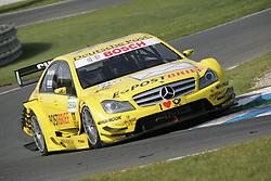 17.09.2011, Ochersleben, , GER, Sachsen Race 08, im Bild  David Coulthard (GB #17 Deutsche Post AMG Mercedes)  // during the dtm race Ochersleben  race 08, on 17/09/2011  EXPA Pictures © 2011, PhotoCredit: EXPA/ nph/   Theisen       ****** out of GER / CRO  / BEL ******