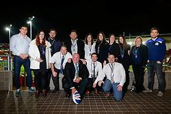 Mark Sorenson and Adrian Jarvis of Bristol Rugby pose with sponsors - Mandatory byline: Rogan Thomson/JMP - 12/02/2016 - RUGBY UNION - Ashton Gate Stadium - Bristol, England - Bristol Rugby v Ealing Trailfinders - Greene King IPA Championship.