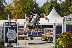 Vermeir Wilm, BEL, Hotshot<br /> FEI WBFSH Jumping World Breeding Championship for young horses Zangersheide Lanaken 2019<br /> © Hippo Foto - Dirk Caremans